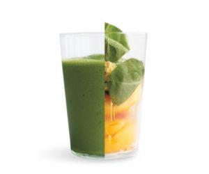 Зеленый персиковый напиток но не с