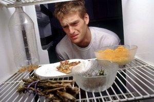 запах в холодильнике